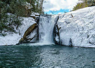 Elk River Falls in Winter