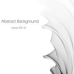 Abstract helical background   - vector illutration