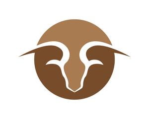 Goat Logo Template vector