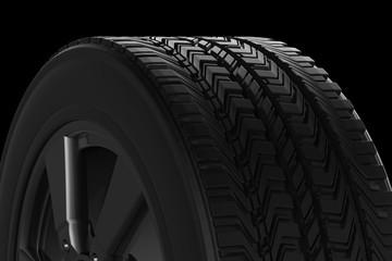 black tire texture