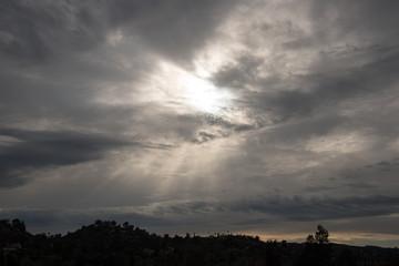 Ominous sky in Los Angeles