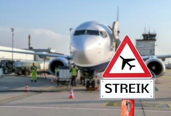 Streik Luftfahrt