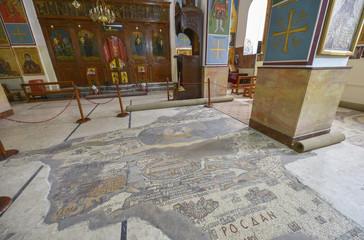 Keuken foto achterwand Monument Iglesia de San Jorge, Madaba, Jordania