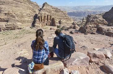 Al-Deir, Monasterio en la ciudad antigua de Petra, Jordania