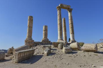 Templo de Hércules, Ciudadela de Amman, Jordania