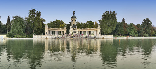 Madrid (Spain): Park of Buen Retiro