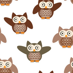 clever brown owl
