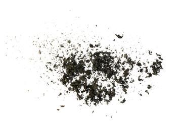 Burnt paper ash texture