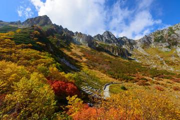 秋の中央アルプス千畳敷