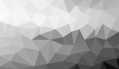 gray white polygonal background