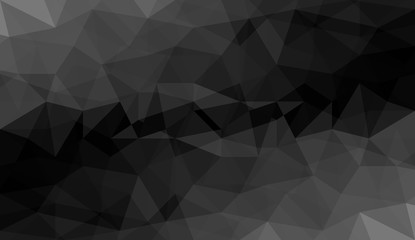gray black polygonal background