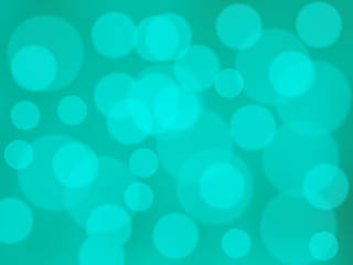 abstract green cycle bokeh background , blurred background