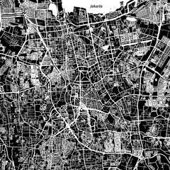 Jakarta Vector Map