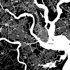 Charleston Vector Map