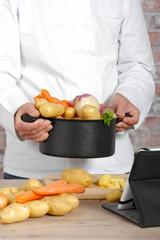 vegetables for the preparation of pot-au-feu