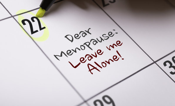 Dear Menopause: Leave Me Alone