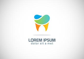 tooth dentist vector logo