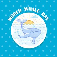 February World Whale Day