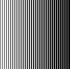 Black and White Halftone Vertical Stripes Pattern