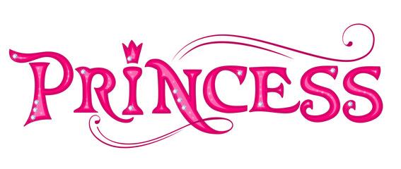 Princess. Pink title.
