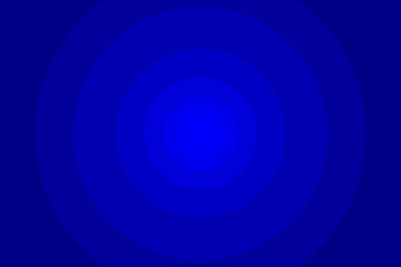 Blue abstract radial step gradient background, Abstract blue circular background,