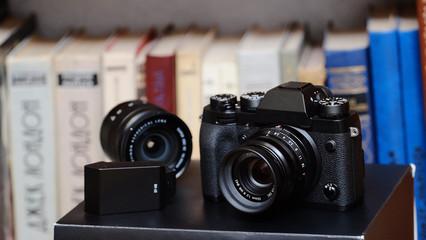 digital camera, film