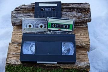 Видеокассета и кассеты