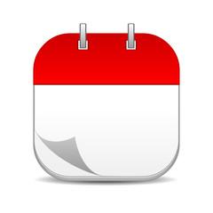 Blank Calendar Icon Vector – hoguma