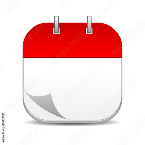 Blank Calendar Icon Vector : Quot blank calendar icon stock photo and royalty free images