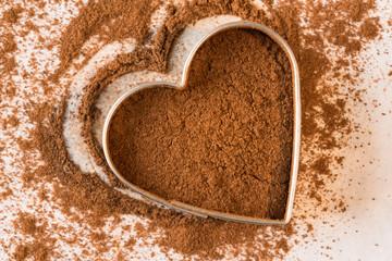 Heart healthy ground cinnamon