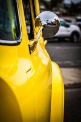 Wall Mural - Yellow Truck