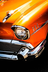 Orange 57 Chevy
