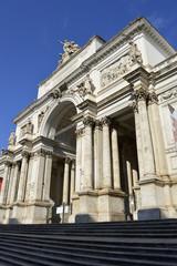 Palazzo delle Esposizioni neoclassical exhibition hall in Rome
