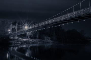 Chester bridge at night Fotomurales