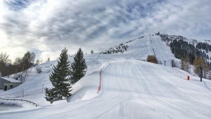 panorama del monte Pigna a Lurisia