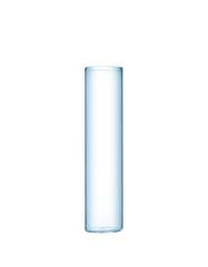 Test tube isolated on white