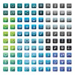 Icon Collection Vector Application Content Concept