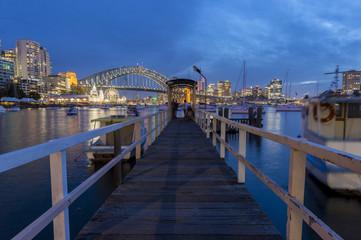 View of Sydney CBD from Lavender bay.