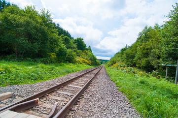 線路は続きよ 夏の北海道