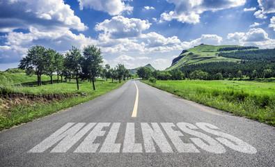 road of wellness Fototapete