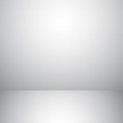 Vector of grey empty studio room background, template mock up fo