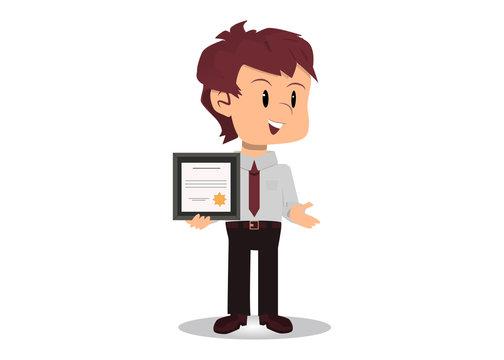 Empleado del mes motivado logra certificación
