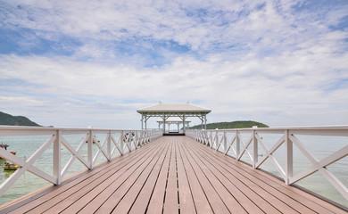 AsDang Bridge at Koh Si Chang Island