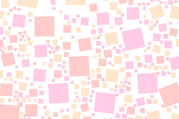 Abstract background with flat pixels. Pattern for music concept.