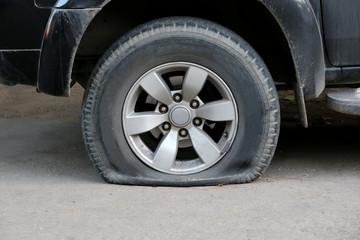 Tires leak