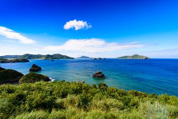 沖縄県 慶良間諸島 座間味島 神の浜展望台