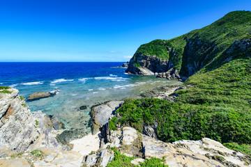 沖縄県 慶良間諸島 座間味島 チシ展望台