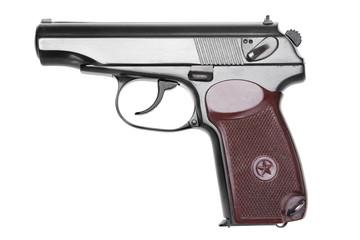 gun isolated / пистолет на белом фоне