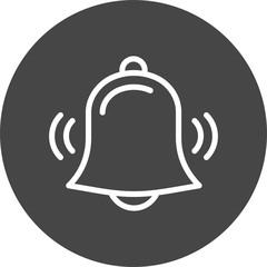 Alarm bell icon image