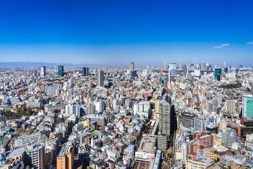 東京 恵比寿駅周辺の町並み